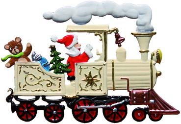 Weihnachtsbilder Nikolaus.Nikolaus In Lokomotive